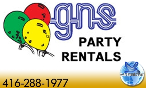 Logo of GNS Party Rentals