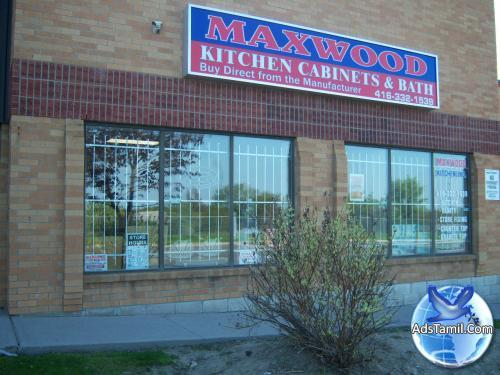 Logo of Maxwood Kitchen Inc