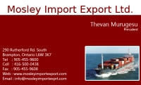 Mosley Import Export Ltd.