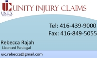Unity Injury Claims