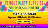 Famous Party Supplies
