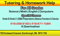 Tutoring & Homework Help
