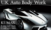 U.K. Auto Body Work Inc.